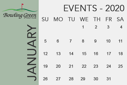 Bowling Green Golf Club Events