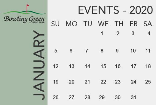 Bowling Green Golf Club Events