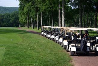 Bowling Green Golf Event Carts