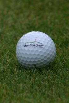 Bowling Green Logo Golf Balls