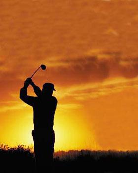 BGGC Golf Sunset