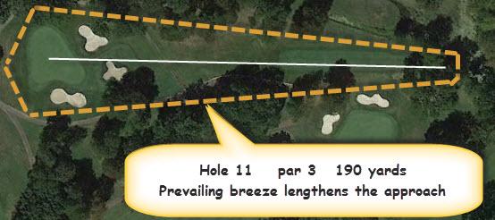 BGGC Golf Course Hole 11