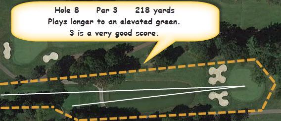 BGGC Golf Course Hole 8