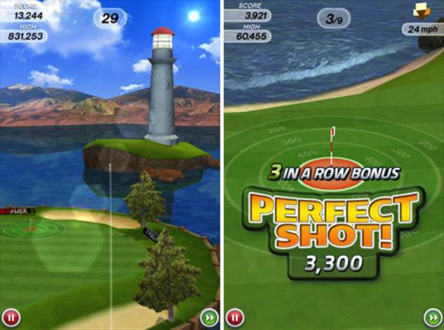 Flick Golf Game App
