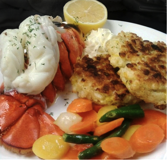 The Grill Room Lobster Tail